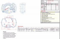 Suzuki SV650 2001 - czujnik poziomu paliwa, rezerwa