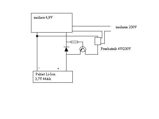 Nietypowe zabezpieczenie �adowarki Li-Ion
