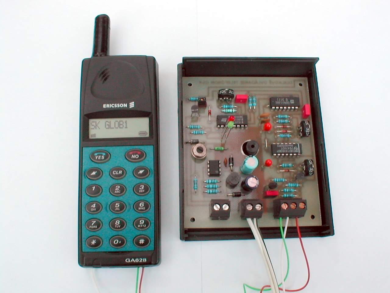 Dia�kov� ovl�danie telef�nom GSM (GSM pilot, GSM remote control)