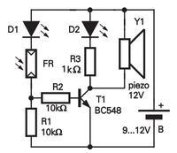 Rezystor pomiędzy bazą a emiterem tranzystora