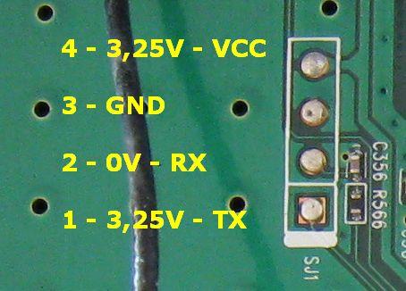 Nieudany upgrade firmware tp-link wa5110g naprawa przez rs232 ttl