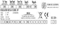 SALUS 091FLRF - Jak podpiąć regulator do sterownika pieca FL300LG-3P