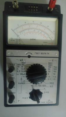 C4341 - Radziecki miernik analogowy