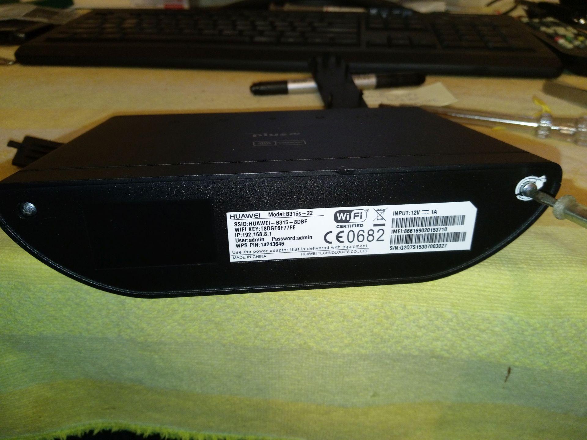 Huawei B315s Firmware