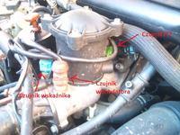 Citroen Xsara 1.9TD 1998r 90KM. Grzanie się silnika i wyłączanie klimatyzacji.