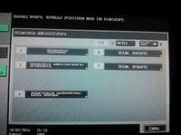 Konica Minolta Bizhub C203 - Ustawienia sieciowe