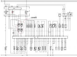 Renault Grand Scenic II 1.6 16V - częściowy brak zasilania i masy na cewkach