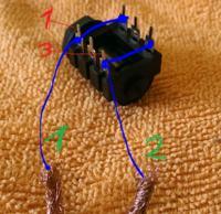 Podłączenie gniazda jack do głośnika