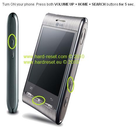 LG GT540 trzeba login i has�o kt�rego nie znam. Ka�da podpowied� ma znaczenie.