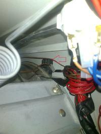 Pralka Ariston Margherita 2000 gdzie podłączyć przewód od układu