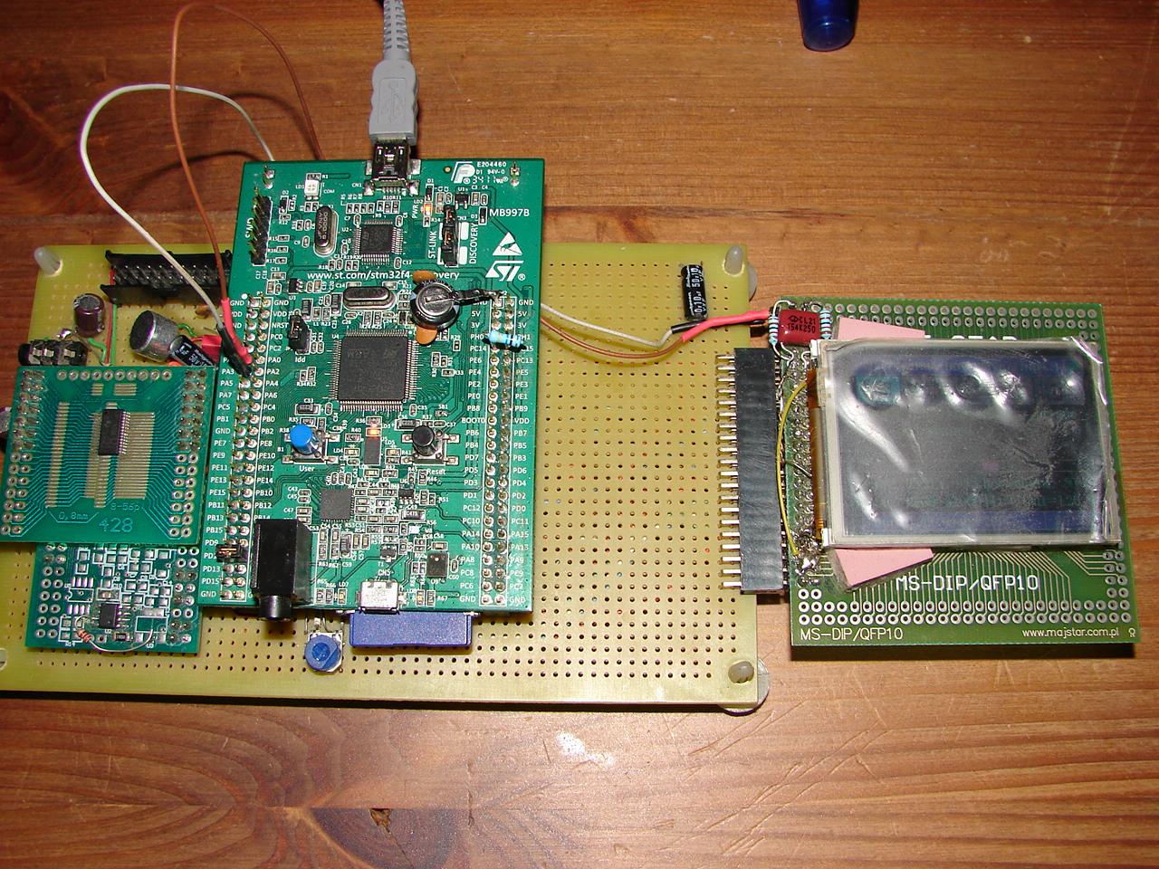 Programowy odtwarzacz/dyktafon na STM32F407VGT6