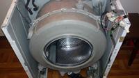Whirlpool AWO/D 4520/P - Wymiana łożysk, klejenie zbiornika
