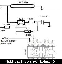Modernizacja zabezpieczenia prądowego przetwornicy IPS 1000 na KA3525a