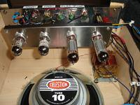 Gitarowe combo lampowe PP 6P15P na transformatorze TS40/81 jako głośnikowy
