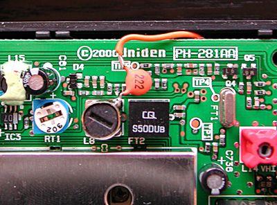 Skaner Uniden UBC60xlt-2, odbiór NOAA, zmiana p.cz.