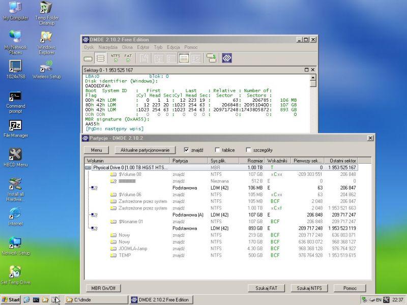 Dysk dynamiczny – Windows 7 nie startuje