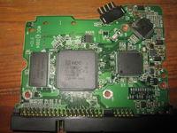 WDC SE WD2000 któremu odwrotnie podłączono wtyczkę z napięciem.