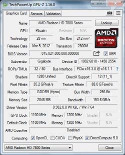 AMD HD 7870 2GB OC GIGABYTE przegrzewa 100 celcjusza podczas wiedzmina 3