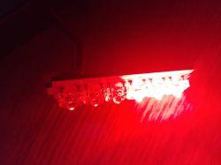Lampa tylna LED połowa diód słabo świeci