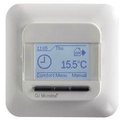 Ustawienie temperatur ogrzewania podłogowego zasilanego pompą ciepła