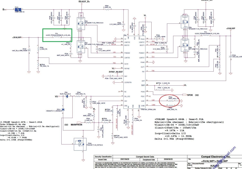 Acer Aspire One KAV60 - Nie reaguje - spalona cewka