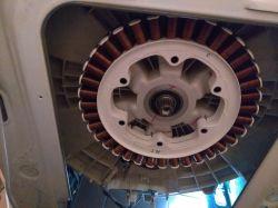 Pralka LG F1256LD - zacinający się silnik, błąd LE - przeciążenie silnika