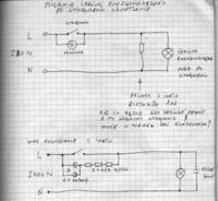 Swietlówki z zapłonnikiem elektronicznym mrugają przy wyłączowym prądzie