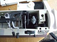 Łucznik 723 - jak zdemontować regulator długości ściegu