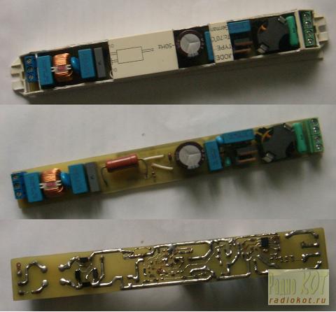 IR2520 - elektroniczny uk�ad zap�onowy do �wietl�wek