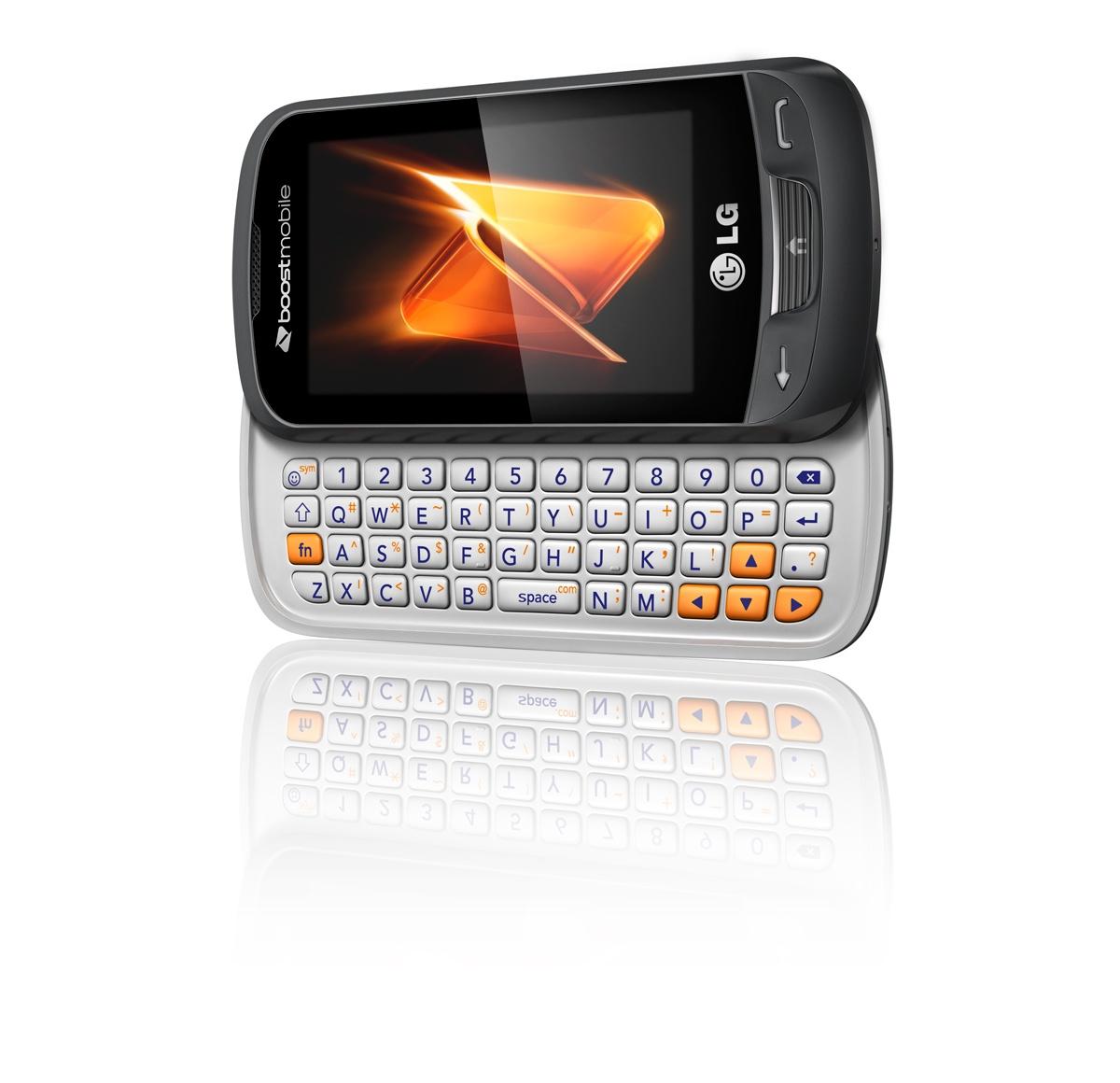 LG Rumor Reflex - nowy telefon z systemem BREW i klawiatur� QWERTY