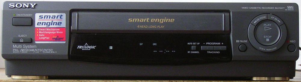 [Oddam] Magnetowid Sony SLV-E477 - uszkodzony mechaniczniz