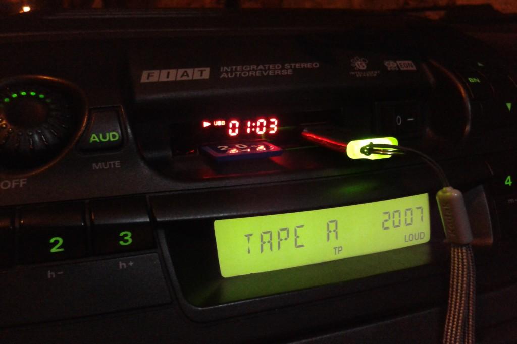 Grundig AD182M - zamiast kaseciaka odtwarzacz MP3