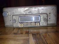 Radio lampowe samochodowe - identyfikacja