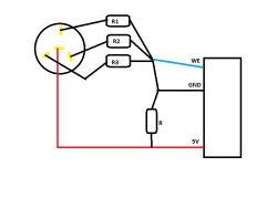 Regulacja jasności podświetlenia - charakterystyka potencjometru