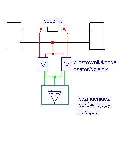 Wska�nik kierunku przep�ywu mocy pr�du zmiennego 230V