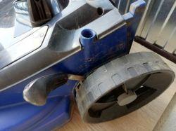KOSIARKA ELEKTRYCZNA EINHELL 1743HW, przestała kręcić, silnik działa