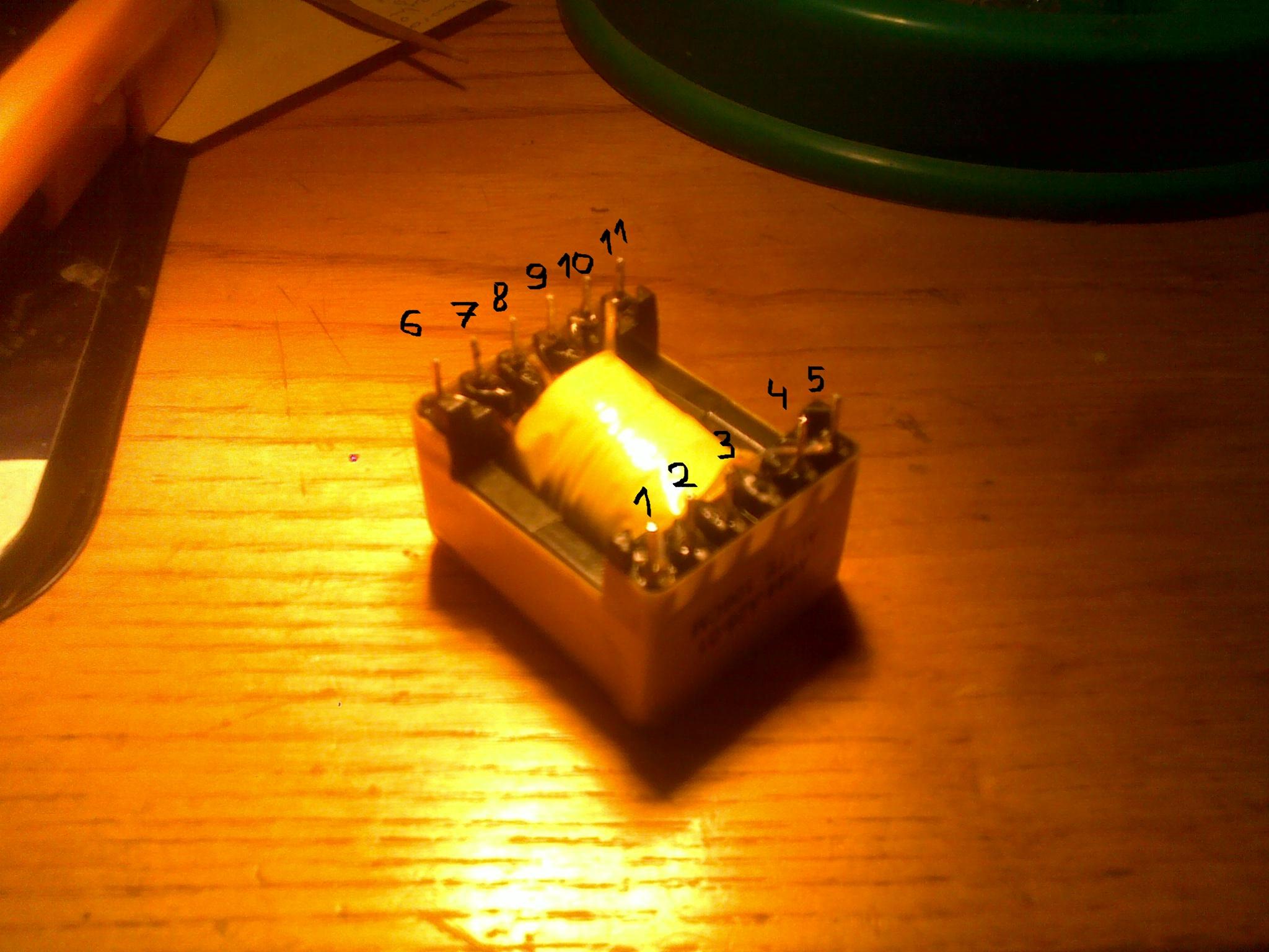 Panasonic kx-fc228PD uszkodzony zasilacz