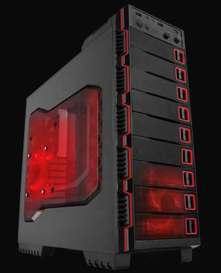 "Raidmax Seiran - obudowa ATX Full ATX z dziewi�cioma zatokami 5.25"""