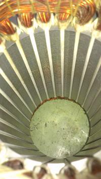 Fioletowy wirnik silnika indukcyjnego