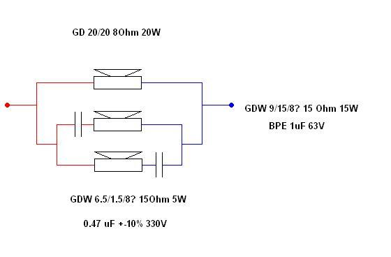 Dynamic Speaker DS 40W. Uszkodzone membrany.