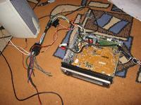 Panasonic CQ-RDP830LEN i dorobienie wejścia liniowego