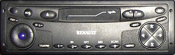 Balupunkt Renault 24V problem z włączeniem