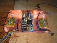 Wzmacniacz 2xTDA7294 z zasilaczem impulsowym