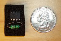 Znacznik RFID z mikrokontrolera AVR i cewki