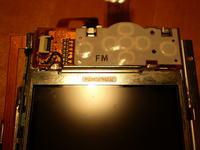 LCD do aparatu Casio EX-Z80