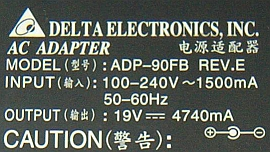 Asus model: ADP-90SB BB Out 19V/4,7A szukam schematu!