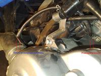 Skuter nie odpala - Przecięty przewód paliwowy ? FOTO