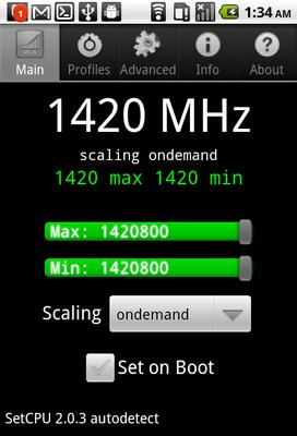 Udało się podkręcić procesor HTC Vision do 1.4 GHz