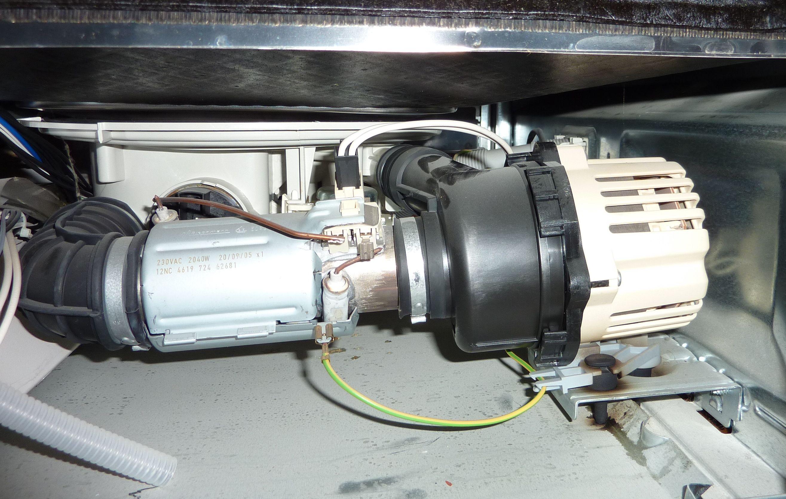 Zmywarka Whirlpool ADP 6945 - Nie w��cza si� - nie wy�wietla b��du