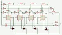 Zasilacz regulowany z wyborem napi�cia na 32 switchach